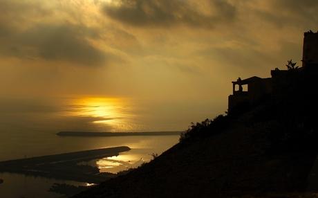 zonsondergang Agadir