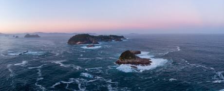 De eilanden van Hahei, NZ