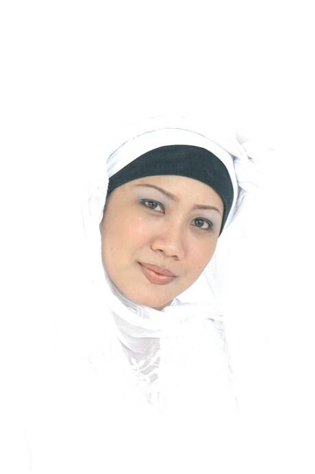 Meisje in het wit
