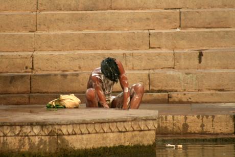 Baden in de Ganges
