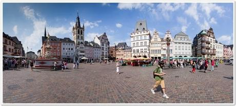 Hauptmarkt Trier Panorama