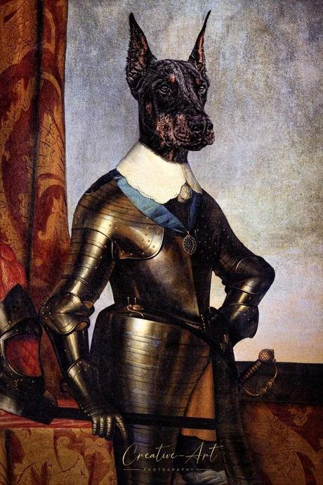 Fine art portret Dog