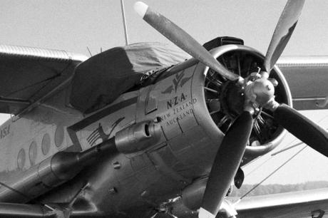 Flying Old school