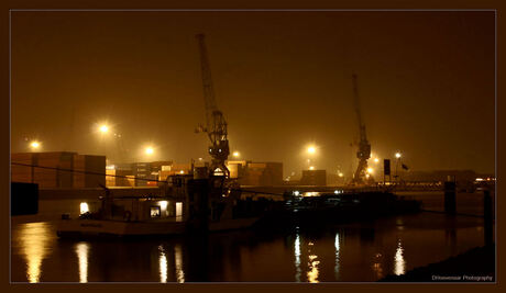 Rotterdamse Haven @ night