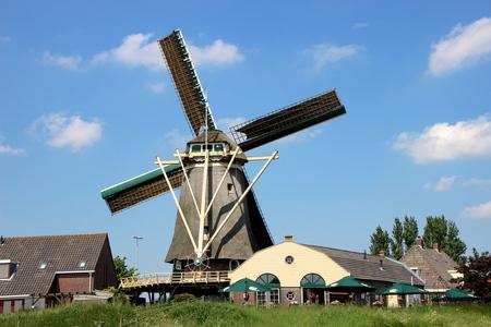 De molen van Nootdorp - De molen van Nootdorp - foto door rvanbaalen_zoom op 07-06-2013 - deze foto bevat: molen, nootdorp