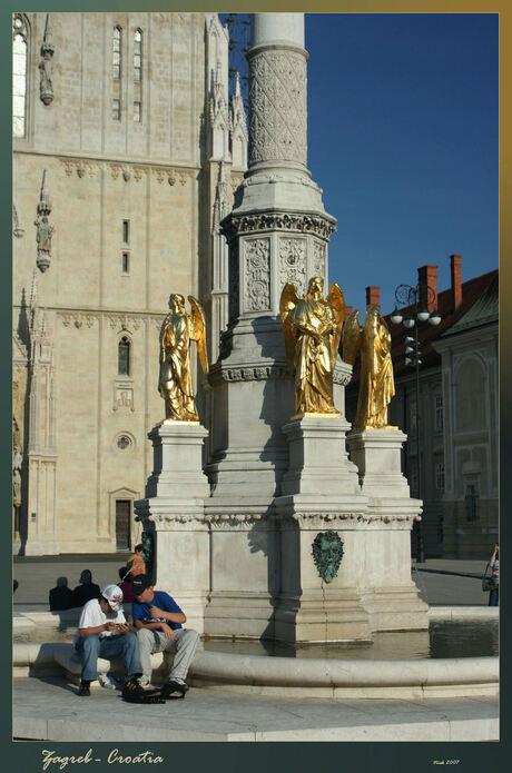 Fontein Zagreb