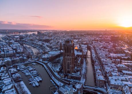 Zonsopkomst Dordrecht