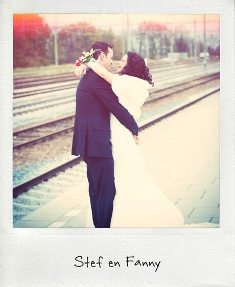 Bruiloft in de vroege ochtendzon