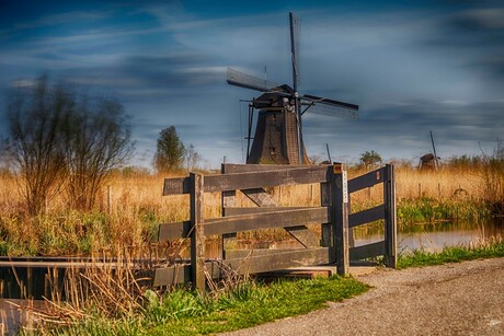 Een échte molen