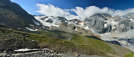 Berglandschap Nationaal Park Stelvio