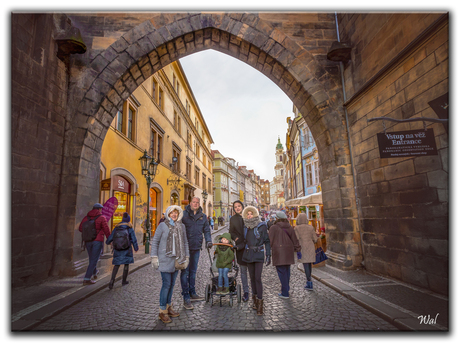 The Old Town Of Praag