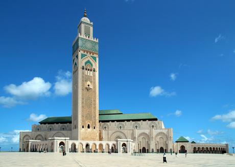 Hassan II Moskee Casablanca (Marokko)