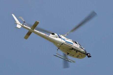 Tour de France helicopter