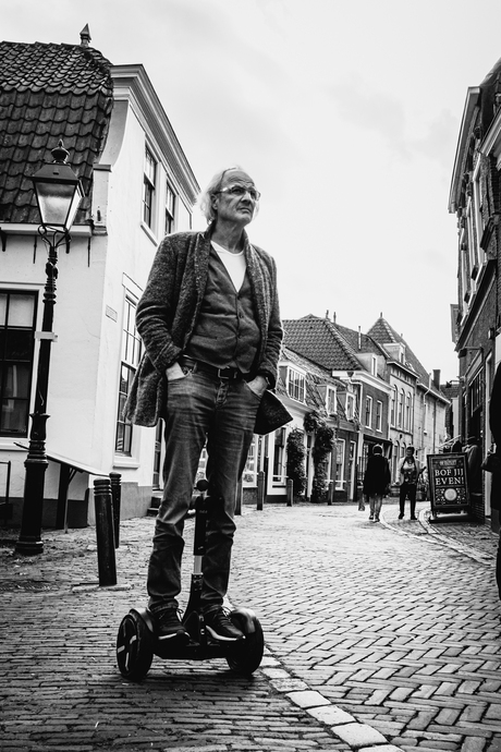 Oudewater by hoverboard
