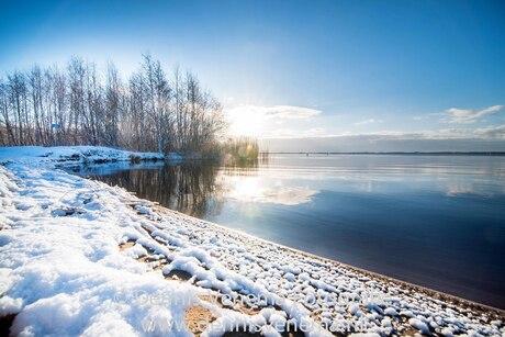 Zuidlaardermeer in de Sneeuw