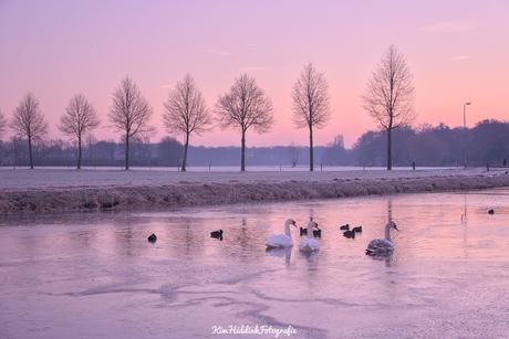 Koude ochtend in Zutphen