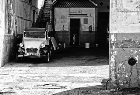 Garage in Lagos, Portugal