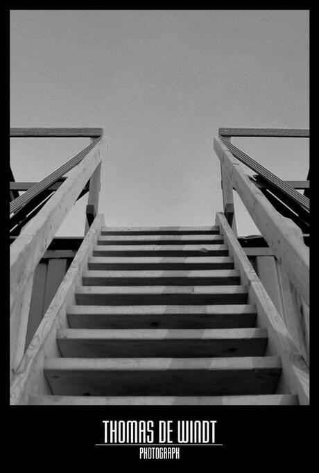 Simple stairs.