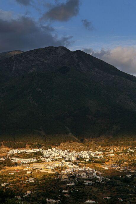 Light over Alcaucín