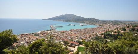 Uitzicht over Zakynthos stad