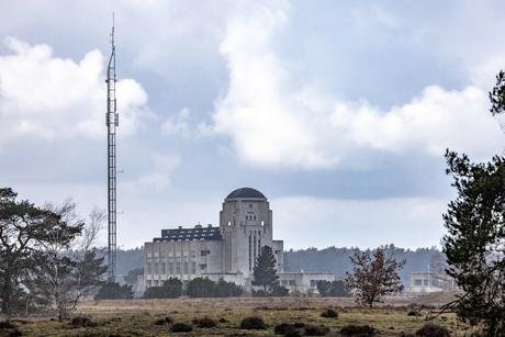 Radio Kootwijk en regen