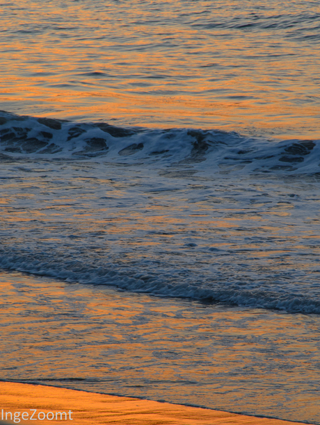 Gloeiende golven