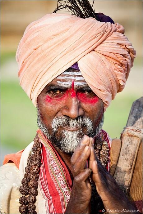 Sacred man - India