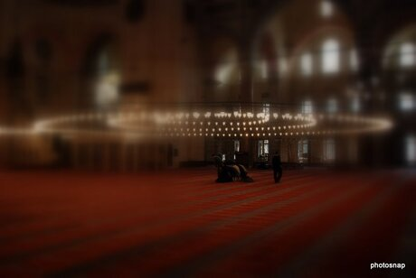 one moment in the mosk