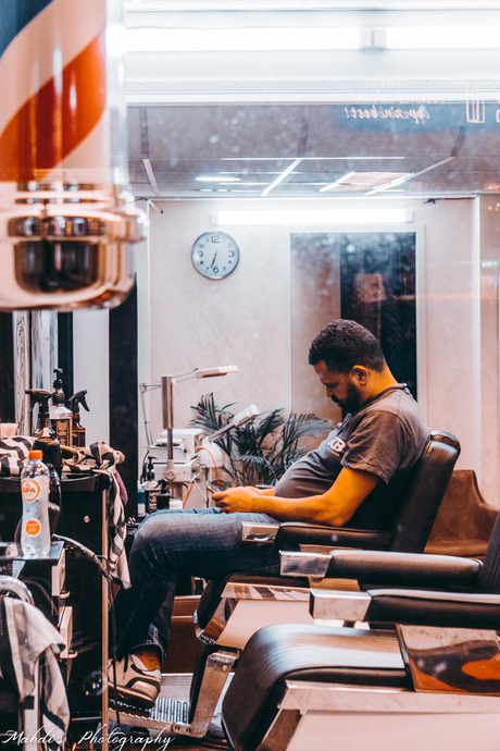 Partial lockdown means bad business for hairdressers