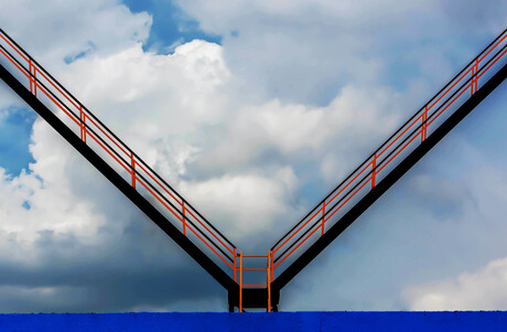 Stairs to the sky...........