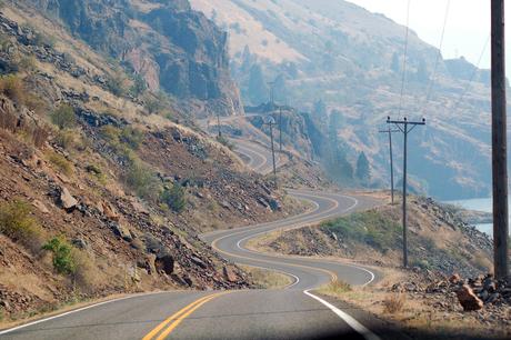 Weg naar Hell's Canyon