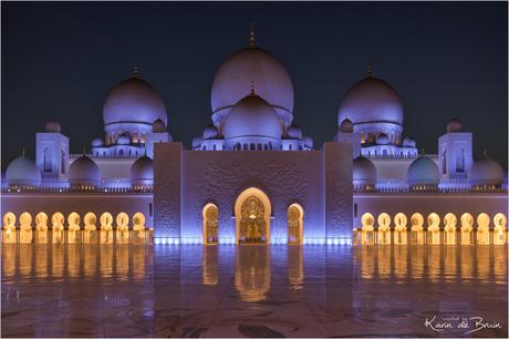 Sjeik Zayed Mosque!