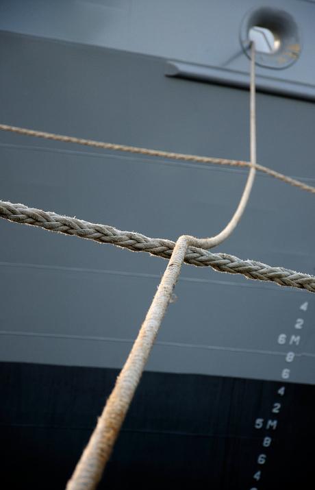 schip met touw