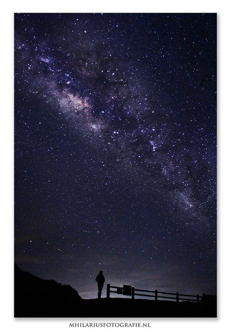 Zelfportret onder de sterren