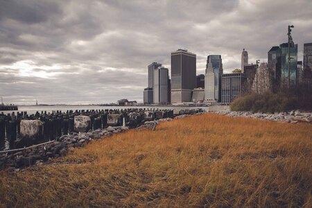 Manhattan Skyline - Apocalypse-edit - foto door lk123456789 op 08-02-2015 - deze foto bevat: ny, skyline, manhattan, brooklyn, New York