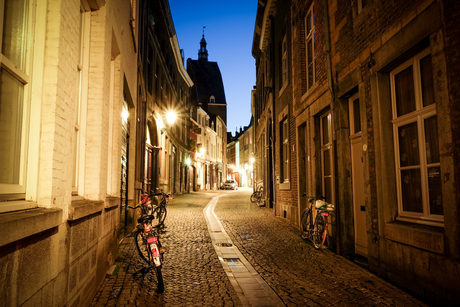 Nightly alleys of Maastricht