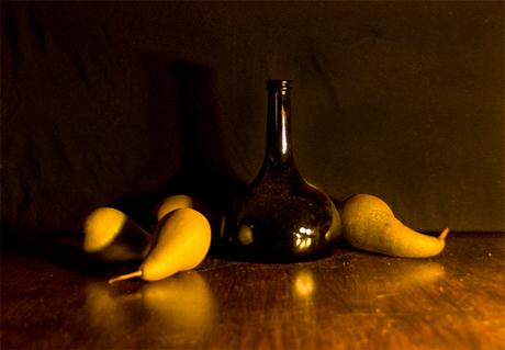 compositie met peren.