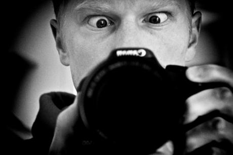 Looking at my camera