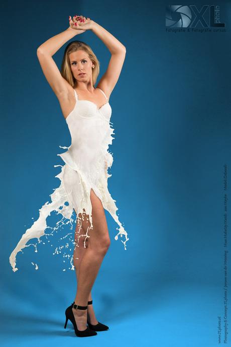 Milkdress Mixed materials