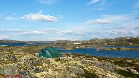 Eenzaam op de Hardangervidda
