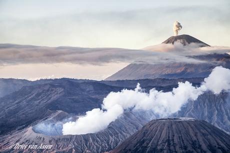 Vulkaan de Bromo op Java