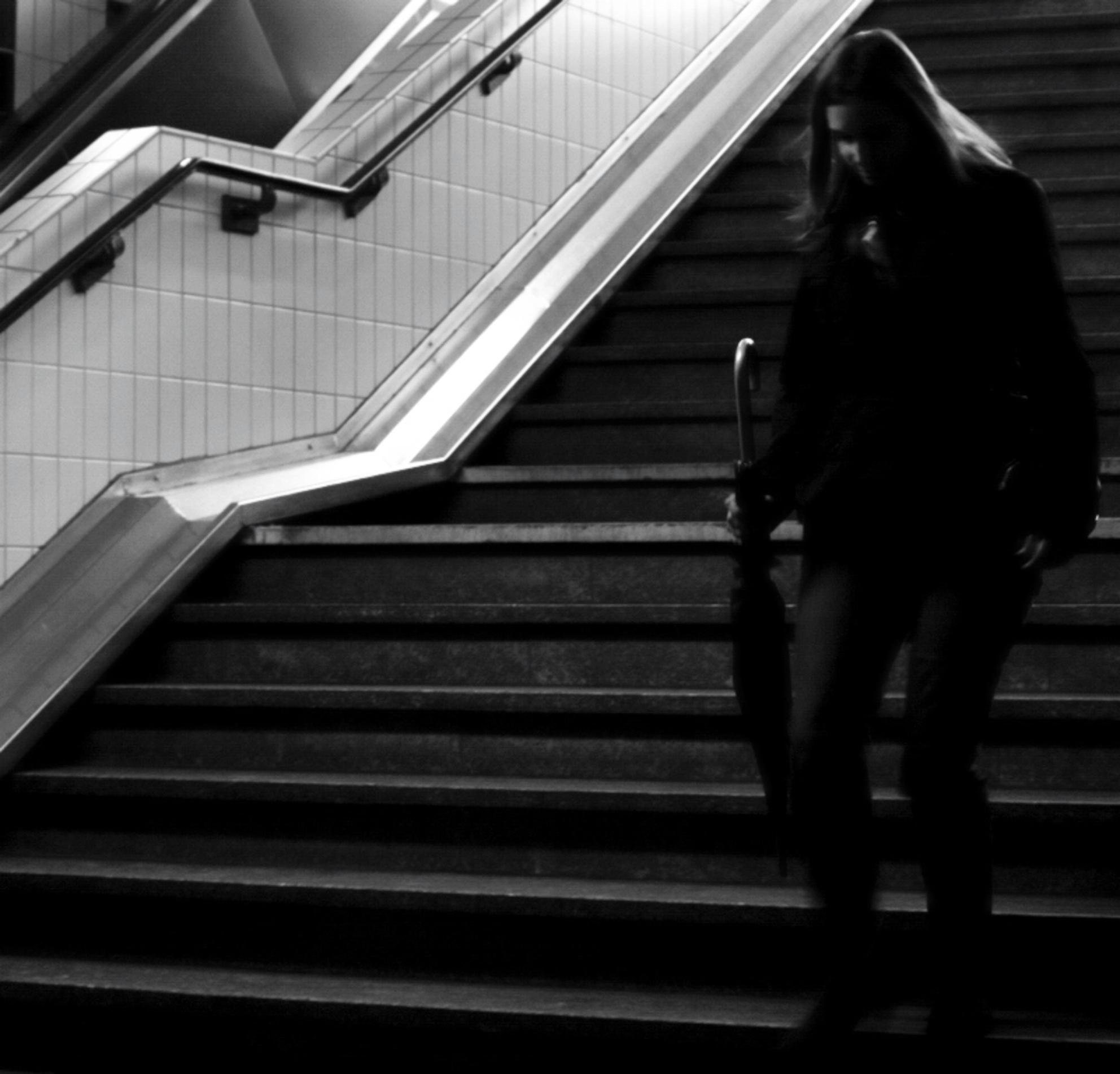 Station Hasselt - - - foto door josjoosten op 21-10-2009 - deze foto bevat: station, trap, hasselt, jjvision - Deze foto mag gebruikt worden in een Zoom.nl publicatie