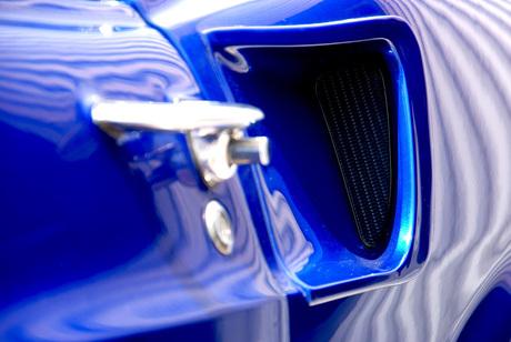 Blauwe Mustang 1