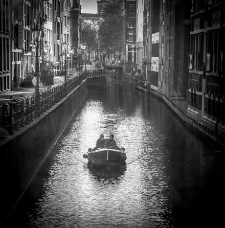 Het is stil in Amsterdam