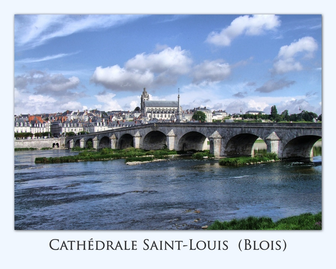 Blois - De Saint-Louis kathedraal in Blois - foto door Marieke45 op 20-08-2011 - deze foto bevat: kathedraal, blois, cathedrale, saint-louis