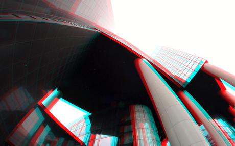 Delftse Poort Weena Rotterdam 3D Rokinon 8mm