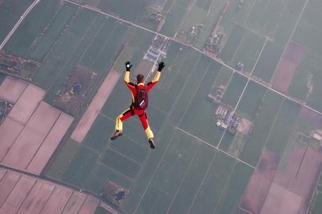 Luchtballon jump