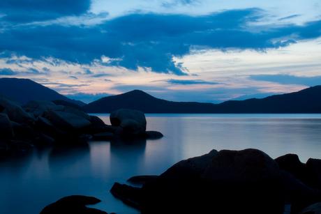 Peaceful Whale Island