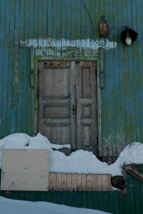 Deur in Barentsburg - Spitsbergen