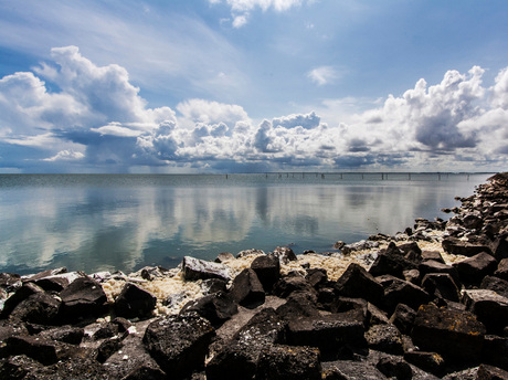 Meer kant bij Aflsuitdijk